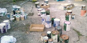 Sorting paint colours