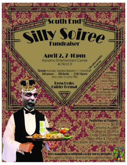 SECA Silly Soiree Poster4